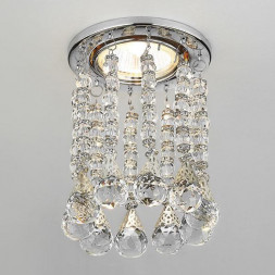 Встраиваемый светильник Ambrella light Crystal K2241 CL/CH
