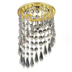 Встраиваемый светильник Ambrella light Crystal K2247 CL/G