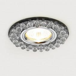 Встраиваемый светильник Ambrella light Crystal K230 BK