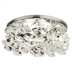 Встраиваемый светильник Ambrella light Crystal K308 CL/CH