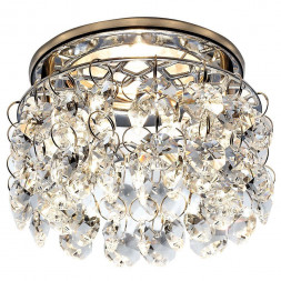 Встраиваемый светильник Ambrella light Crystal K3221 CL/CH