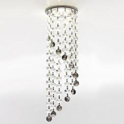 Встраиваемый светильник Ambrella light Crystal K3440 CL/BK/CH