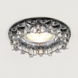 Встраиваемый светильник Ambrella light Crystal K370 BK