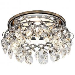 Встраиваемый светильник Ambrella light Crystal K7070 CL/CH