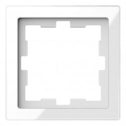 Рамка 1-постовая Schneider Electric Merten D-Life MTN4010-6520