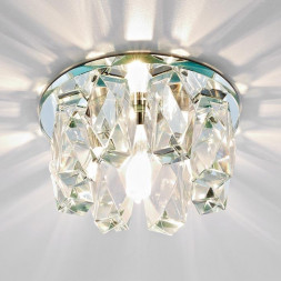 Встраиваемый светильник Ambrella light Desing D1047 CL/CL/CH
