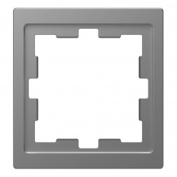 Рамка 1-постовая Schneider Electric Merten D-Life MTN4010-6536