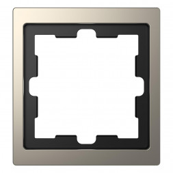Рамка 1-постовая Schneider Electric Merten D-Life MTN4010-6550