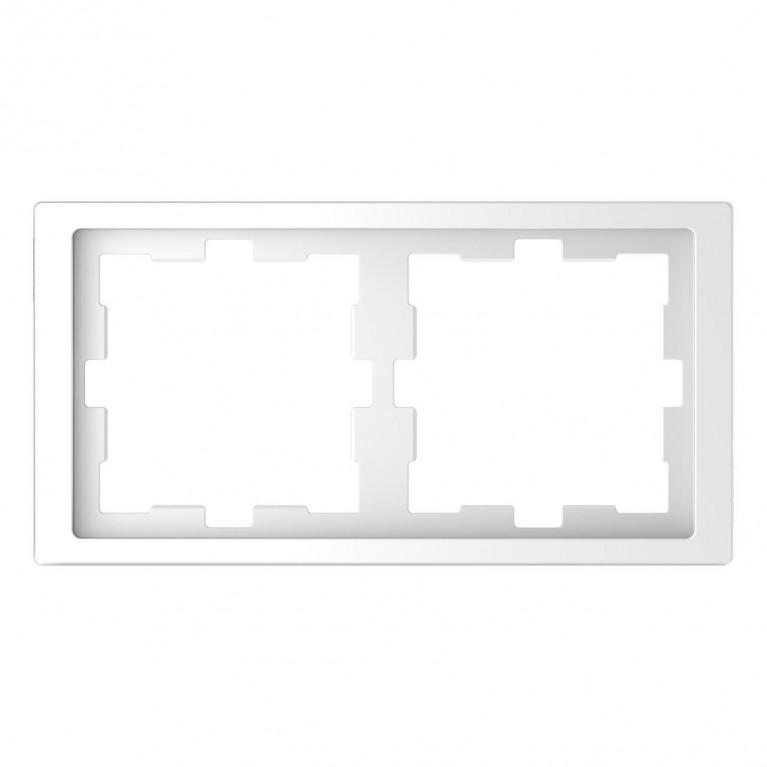 Рамка 2-постовая Schneider Electric Merten D-Life MTN4020-6535