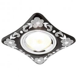 Встраиваемый светильник Ambrella light Desing D2065 BK/CH