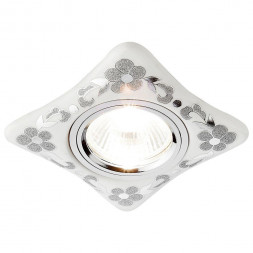 Встраиваемый светильник Ambrella light Desing D2065 W/CH