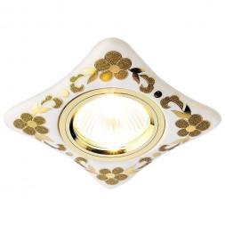 Встраиваемый светильник Ambrella light Desing D2065 W/GD