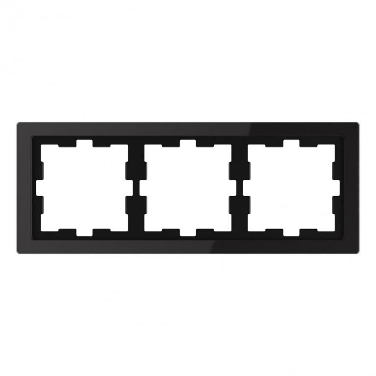 Рамка 3-постовая Schneider Electric Merten D-Life MTN4030-6503