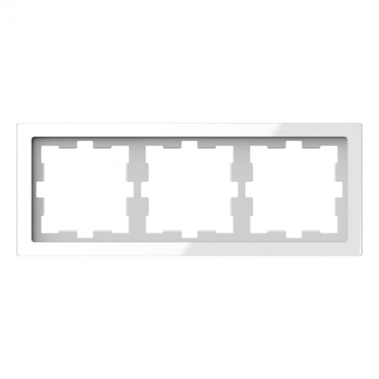 Рамка 3-постовая Schneider Electric Merten D-Life MTN4030-6520