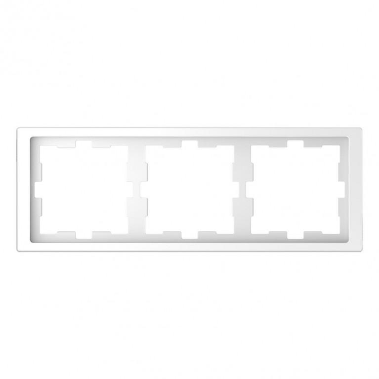 Рамка 3-постовая Schneider Electric Merten D-Life MTN4030-6535