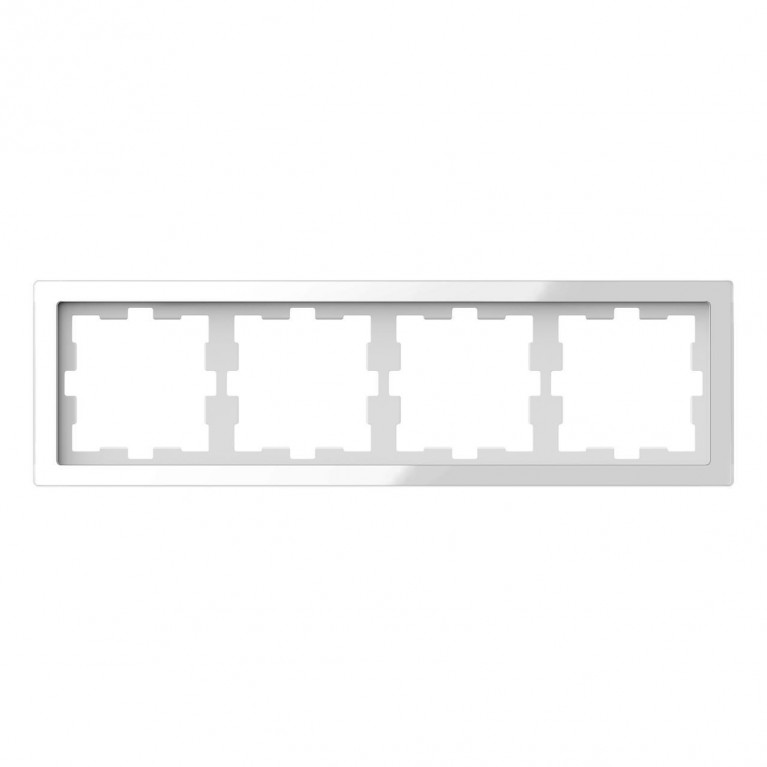 Рамка 4-постовая Schneider Electric Merten D-Life MTN4040-6520