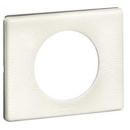 Рамка 1-постовая Legrand Celiane белая феерия 069351