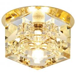Встраиваемый светильник Ambrella light Desing D605 CL/G