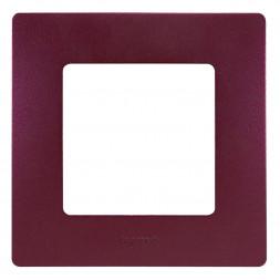Рамка 1-постовая Legrand Etika сливовая 672561