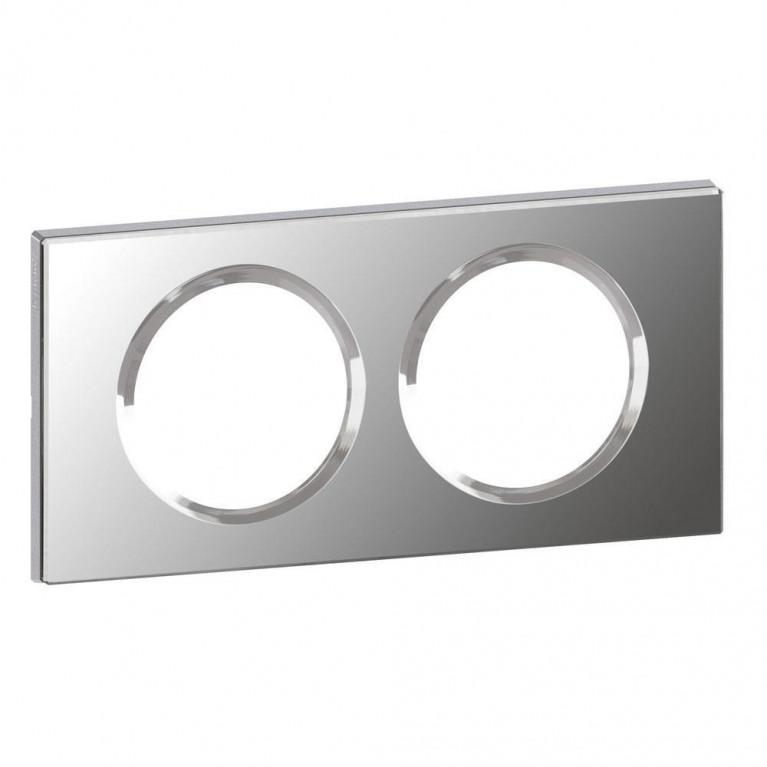 Рамка 2-постовая Legrand Celiane зеркало 069122