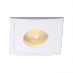 Встраиваемый светильник Arte Lamp Aqua A5444PL-1WH
