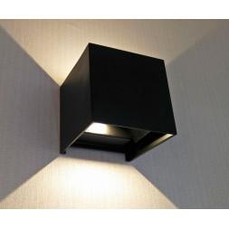 Уличный настенный светодиодный светильник Kink Light Куб 08585,19(3000K)