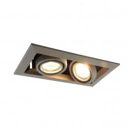 Встраиваемый светильник Arte Lamp Cardani Piccolo A5941PL-2GY