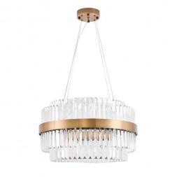 Подвесная светодиодная люстра Lumina Deco Ringletti LDP 8017-600 MD