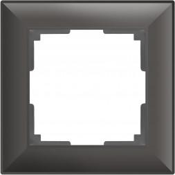 Рамка Fiore на 1 пост серо-коричневый WL14-Frame-01 4690389109058