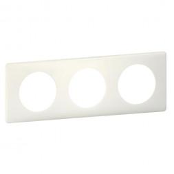 Рамка 3-постовая Legrand Celiane белая перкаль 066703