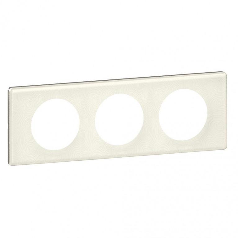 Рамка 3-постовая Legrand Celiane белая феерия 069353