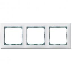Рамка 3-постовая Legrand Valena белая/кристалл 774463