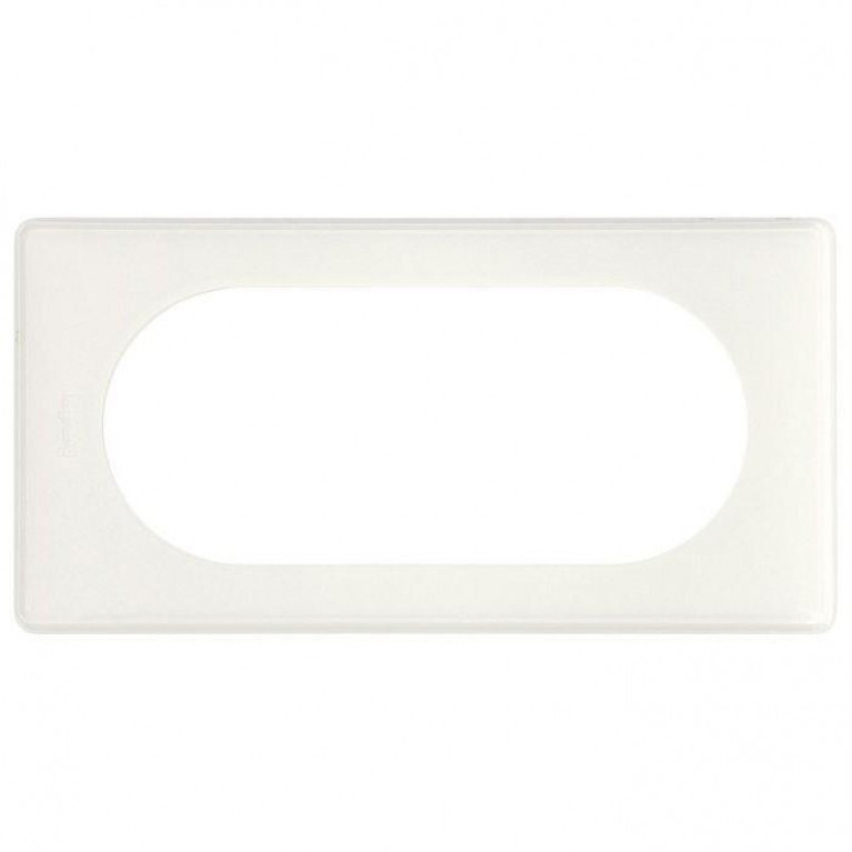 Рамка 4/5-модульная Legrand Celiane белый глянец 066635