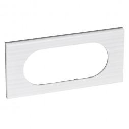 Рамка 4/5-модульная Legrand Celiane белый рельеф 069015