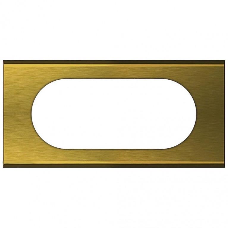 Рамка 4/5-модульная Legrand Celiane золото 069135