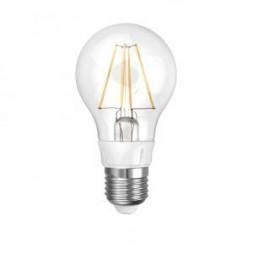 Лампа светодиодная филаментная (UL-00000198) E27 8W 3000K прозрачная LED-A60-8W/WW/E27/CL
