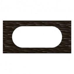 Рамка 4/5-модульная Legrand Celiane чёрный рельеф 069025