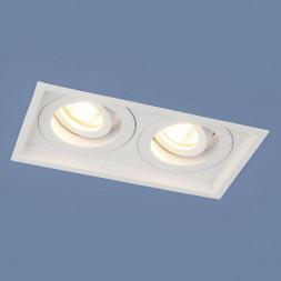 Встраиваемый светильник Elektrostandard 1071/2 MR16 WH белый 4690389097959