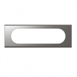 Рамка 6/8-модульная Legrand Celiane фактурная сталь 069106