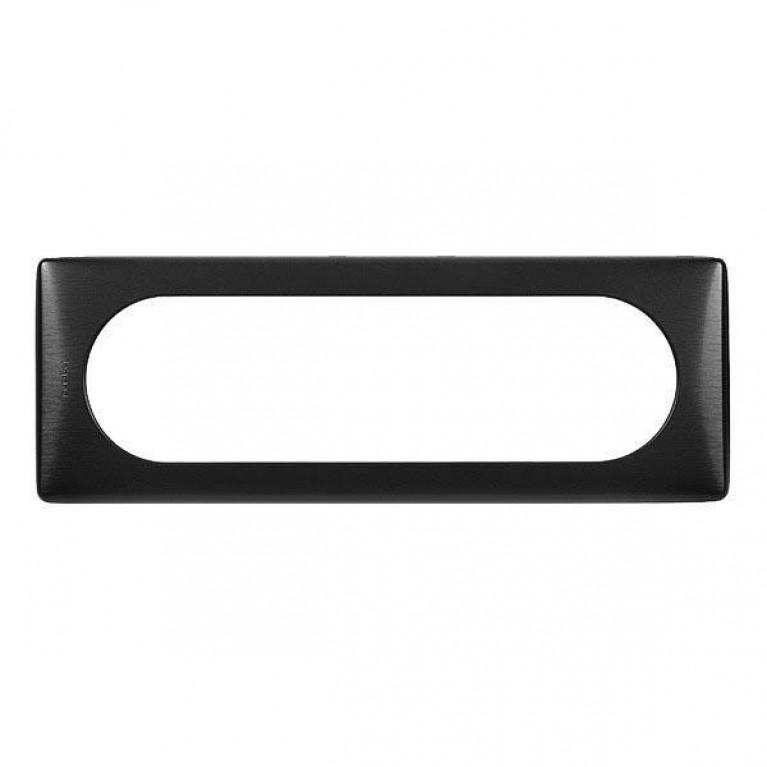 Рамка 6/8-модульная Legrand Celiane чёрный никель 069036