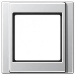Рамка 1-постовая Jung A 500 алюминий A581AL