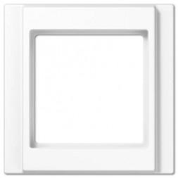 Рамка 1-постовая Jung A 500 белая A581WW