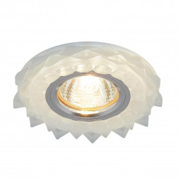 Встраиваемый светильник Elektrostandard 2209 MR16 Matt Ice матовый лед 4690389112867