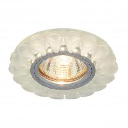 Встраиваемый светильник Elektrostandard 2210 MR16 Matt Ice матовый лед 4690389112874