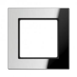 Рамка 1-постовая Jung A creation стекло зеркальное AC581GLSI