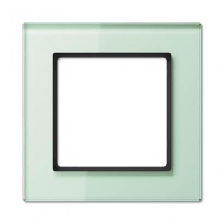 Рамка 1-постовая Jung A creation стекло матовое AC581GLWMT