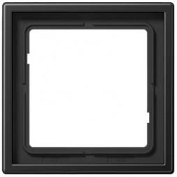 Рамка 1-постовая Jung LS 990 dark AL2981D