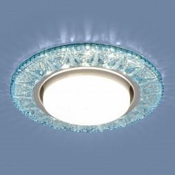 Встраиваемый светильник Elektrostandard 3022 GX53 BL лазурный 4690389100031