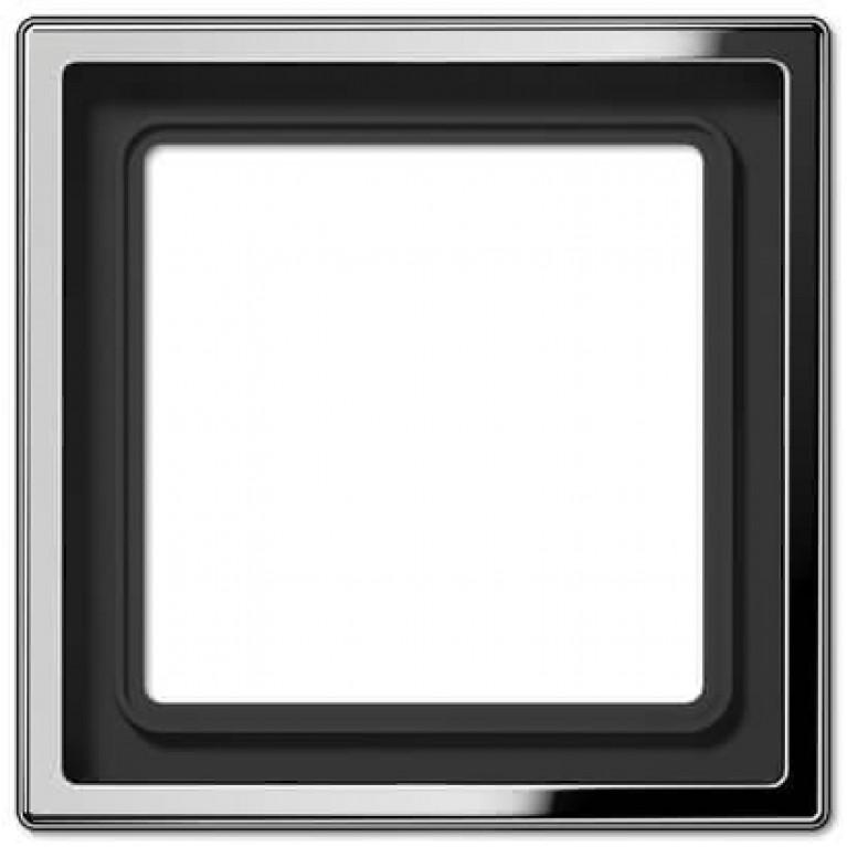Рамка 1-постовая Jung LS 990 блестящий хром GCR2981