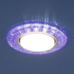 Встраиваемый светильник Elektrostandard 3030 GX53 VL фиолетовый 4690389083310
